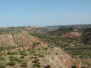 Palo Duro Canyon, a real heavyweight of gashes in the Earth.