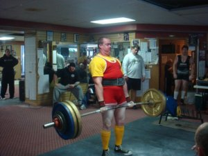 601 pound second-attempt deadlift at BW of 258.